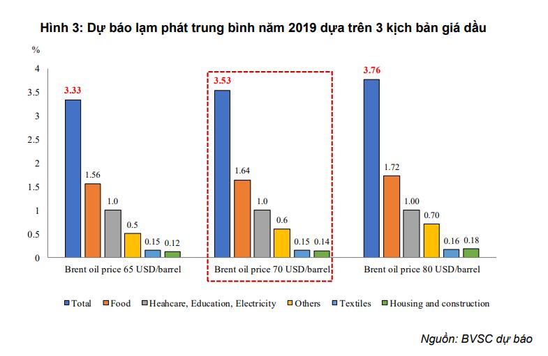 BVSC: Giá điện tăng không gây rủi ro đến lạm phát 2019