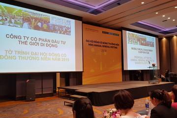 Họp ĐHCĐ MWG: Ông Nguyễn Đức Tài thôi làm CEO Thế Giới Di Động