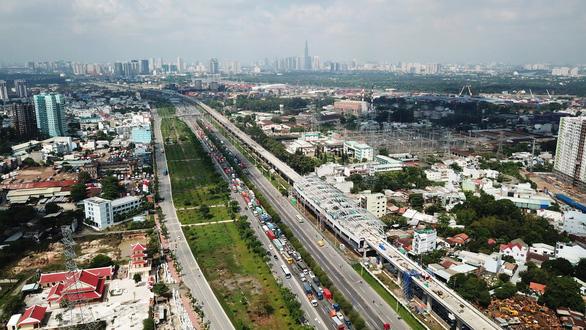 TP HCM tạm ứng ngân sách gần 2.160 tỷ đồng cho metro Bến Thành - Suối Tiên