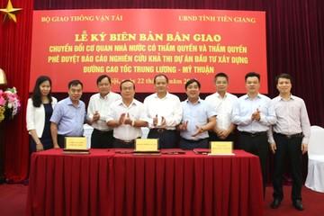 Tiền Giang trực tiếp quản dự án BOT cao tốc Trung Lương - Mỹ Thuận
