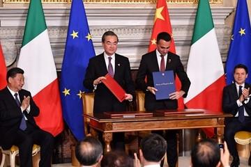 Italia tham gia sáng kiến Vành đai và Con đường của Trung Quốc