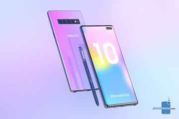 Samsung Galaxy Note 10 sẽ không còn phím bấm?