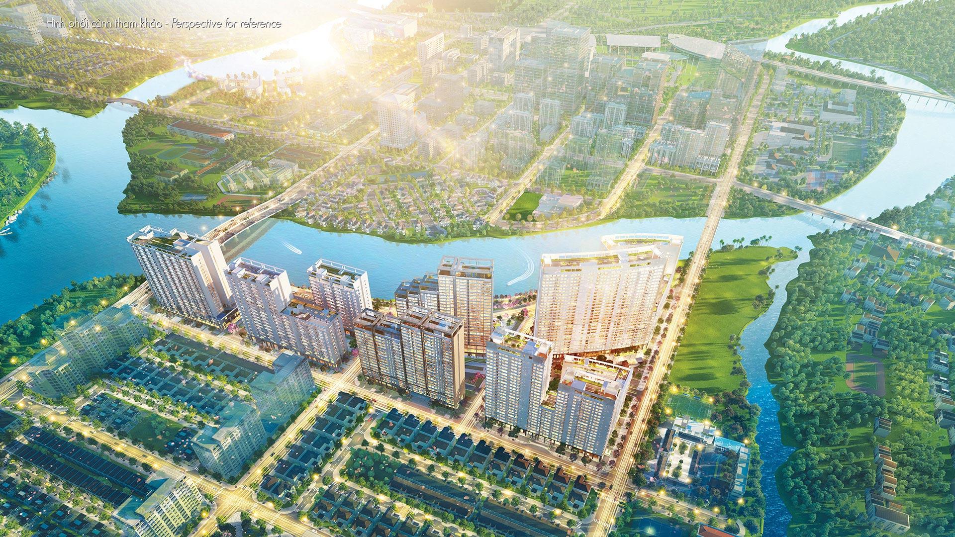 Vietcombank Nam Sài Gòn cho vay và bảo lãnh 5.000 tỷ đồng dự án Midtown The Peak