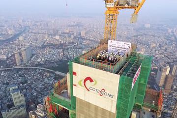 Coteccons muốn phát hành cổ phiếu sáp nhập Ricons, kế hoạch lãi giảm 12%