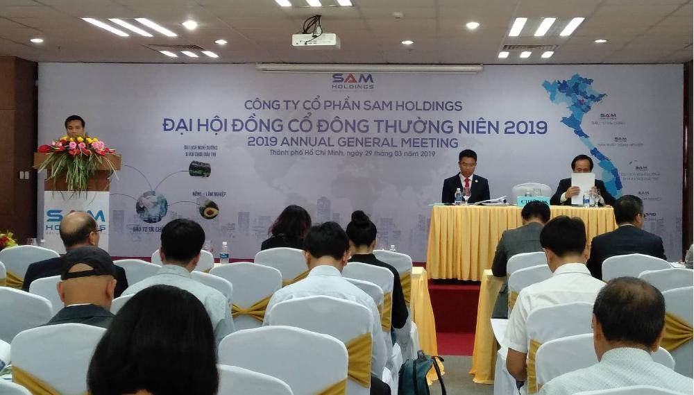 Họp ĐHCĐ SAM Holdings: Chủ tịch TTF tham gia HĐQT