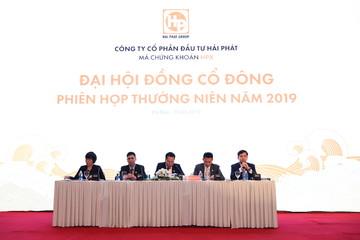 Họp ĐHCĐ Hải Phát: Dự kiến triển khai 5 dự án mới, mục tiêu lợi nhuận 2019 tăng gần 60%