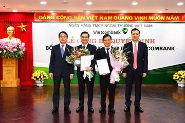 Vietcombank bổ nhiệm thêm 2 Phó Tổng Giám đốc