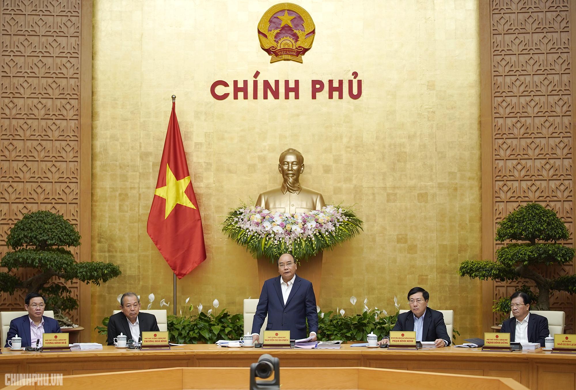 Thủ tướng chủ trì họp Chính phủ thường kỳ tháng 3