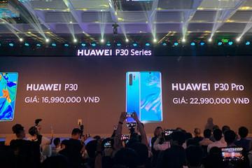 Huawei P30 có giá từ 16,99 triệu đồng tại Việt Nam
