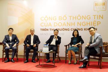 Công bố thông tin của doanh nghiệp trên TTCK: Quyền lớn nhất là của nhà đầu tư