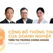 Sáng nay diễn ra NDH Talk 09 về công bố thông tin của doanh nghiệp trên TTCK