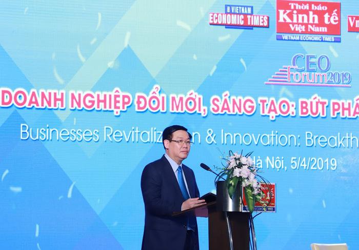 Phó Thủ tướng Vương Đình Huệ: Đổi mới sáng tạo là yếu tố sống còn của doanh nghiệp