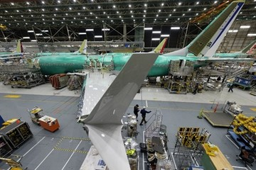 Boeing giảm sản xuất máy bay 737
