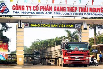Gang thép Thái Nguyên nguy cơ phá sản