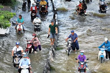 TP HCM chi 8.000 tỷ đồng chống ngập năm nay
