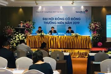 ĐHCĐ chứng khoán VietinBank: Kế hoạch lãi tăng 15% trong 2019, cổ tức tiền mặt tỷ lệ 12%