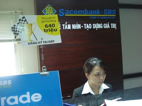 Chứng khoán Sacombank và HVS Việt Nam có thể về 'chung một nhà'