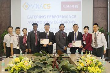 VINACS nhận 'cú đúp' giải thưởng Suất ăn tốt nhất thế giới