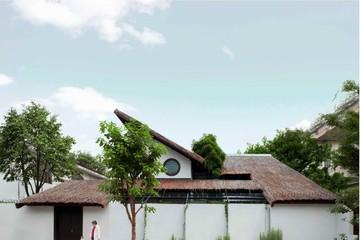 [Ảnh] Nhà mái lá tuyệt đẹp trên diện tích 400 m2 ở Biên Hoà