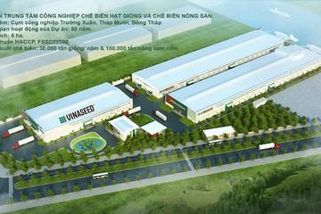 Vinaseed khởi công Trung tâm công nghiệp chế biến hạt giống và nông sản lớn nhất cả nước