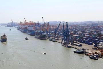 Lượng hàng hóa qua các cảng biển Việt Nam tăng mạnh