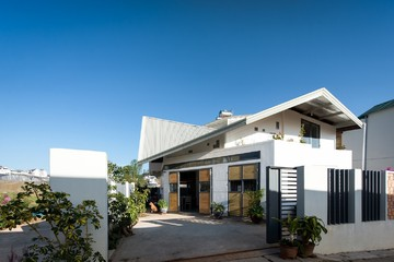 [Ảnh] Thiết kế sáng tạo của ngôi nhà được xây trên mảnh đất méo mó ở Đà Lạt