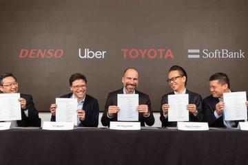 Mảng ôtô tự lái của Uber được đầu tư 1 tỷ USD