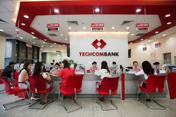 Lãi trước thuế Techcombank tăng gần 2% trong quý I