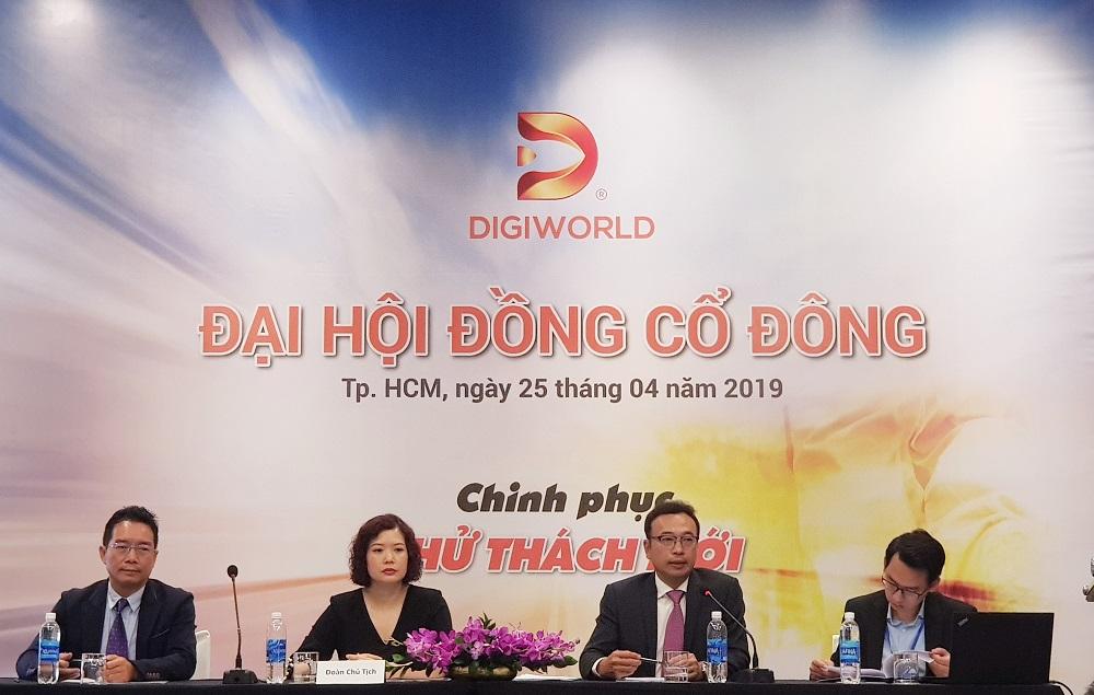 Digiworld để ngỏ khả năng bán tivi, lãi quý I tăng 26% cùng kỳ