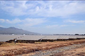 4 nhà máy điện mặt trời cùng khánh thành tại Ninh Thuận