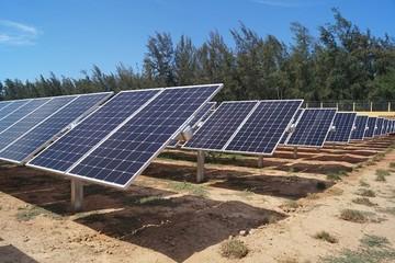 Khánh thành nhà máy điện mặt trời được cấp phép đầu tiên