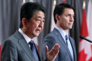 Lãnh đạo Nhật Bản và Canada cùng ca ngợi CPTPP