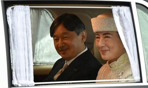 Tân Nhật hoàng Naruhito lên ngôi