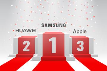 Huawei vượt Apple, trở thành số 2 làng điện thoại thông minh