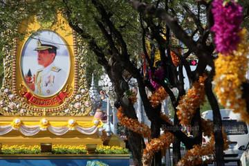 Thái Lan chi hơn 30 triệu USD cho lễ đăng quang của nhà vua