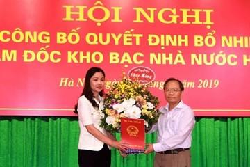 Thay đổi Giám đốc Kho bạc Hà Nội, Hưng Yên, Sở Giao dịch