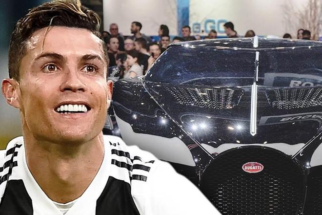 Ronaldo phủ nhận xuống tiền mua siêu xe Bugatti 19 triệu USD