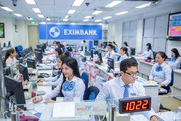 Lãi trước thuế của Eximbank giảm 38% trong quý I, dư nợ giảm