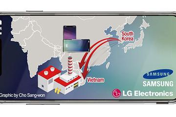 Việt Nam thành công xưởng sản xuất smartphone thay Hàn Quốc
