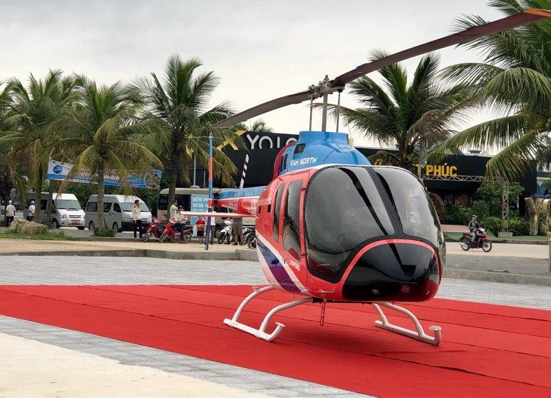 Khai trương dịch vụ du lịch bằng trực thăng HaLong Heli Tours, có thể đặt qua ứng dụng FastGo
