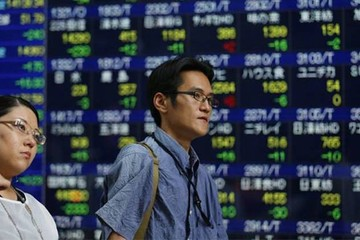 Chứng khoán châu Á giảm vì bất ổn thương mại