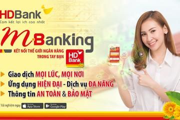 HDBank ra mắt giao diện website mới và ứng dụng mới HDBank mBanking
