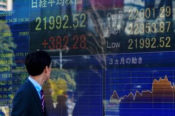Chứng khoán châu Á tăng mạnh nhất 6 tuần, Trung Quốc tăng hơn 2%