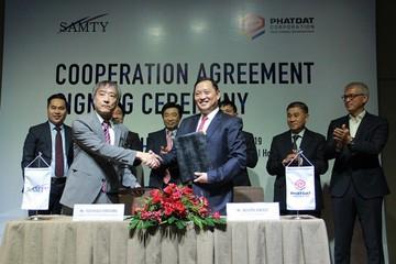 Phát Đạt ký hợp tác với Samty Corporation