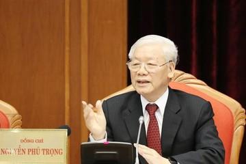 Tổng Bí thư, Chủ tịch nước Nguyễn Phú Trọng phát biểu khai mạc Hội nghị TƯ 10