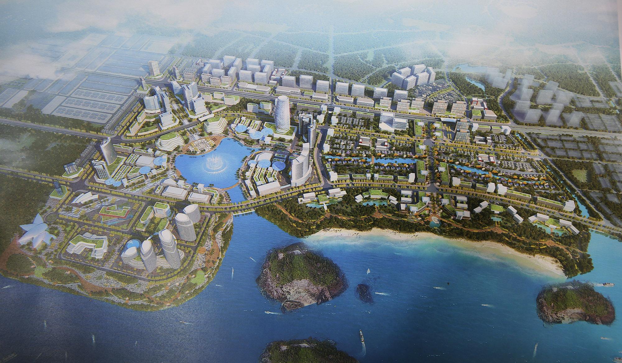 DOJI lên ý tưởng xây khu đô thị gần 200 ha tại Vân Đồn