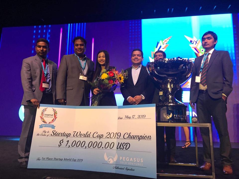 Startup Việt vô địch cuộc thi Startup World Cup 2019 tại Mỹ, nhận 1 triệu USD