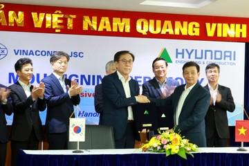 Vinaconex hợp tác với Hyundai E&C phát triển dự án