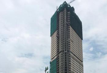 Tháp 'biểu tượng quận Hà Đông' xây gần thập kỷ chưa xong