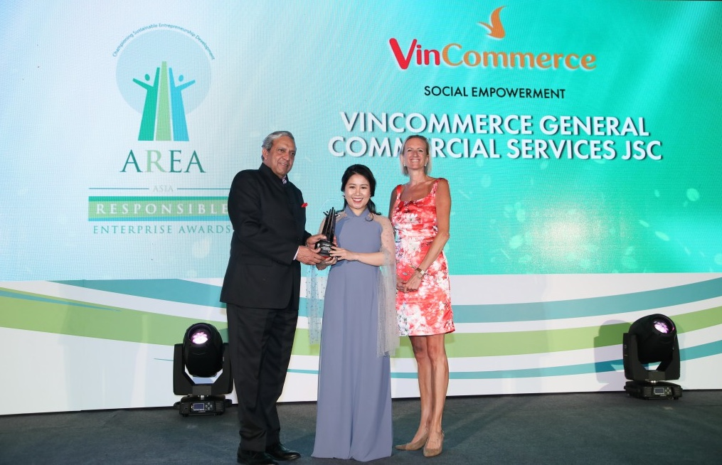 VinCommerce nhận giải thưởng doanh nghiệp trách nhiệm châu Á